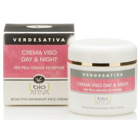 crema viso bioattiva day and night