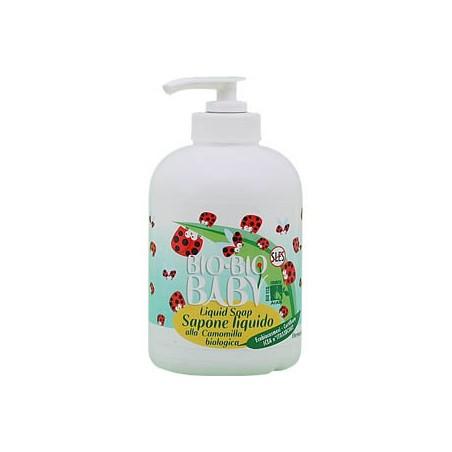 sapone liquido alla camomilla biologica