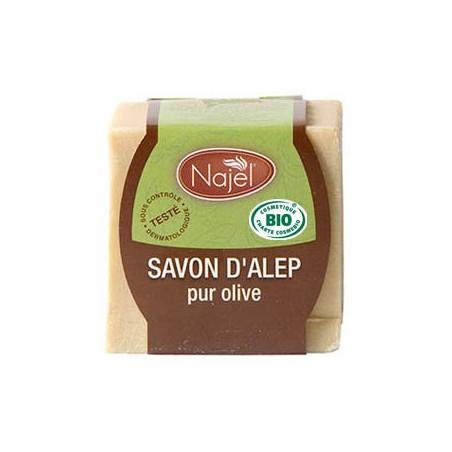 sapone d'aleppo puro oliva bio