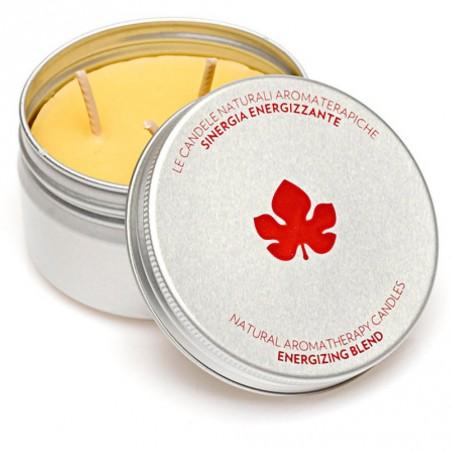 candela aromaterapica energizzante