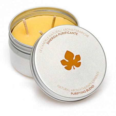 candela aromaterapica purificante