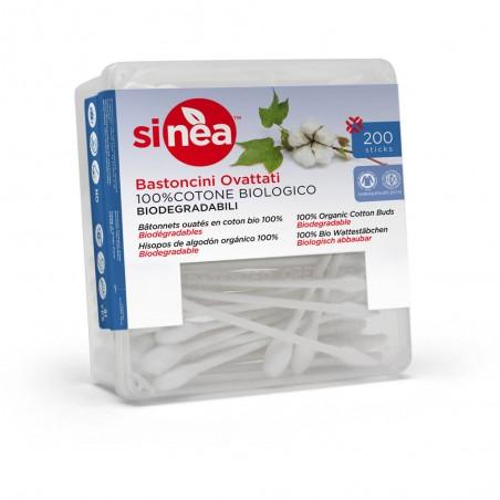 bastoncini ovattati 100% cotone biologico