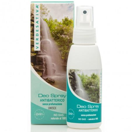 deo spray antibatterico senza profumazione