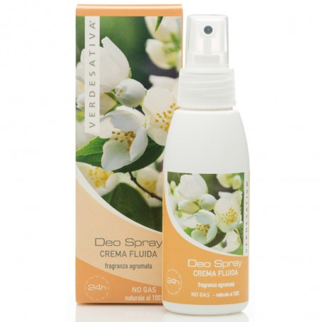 deo spray crema fluida fragranza agrumata