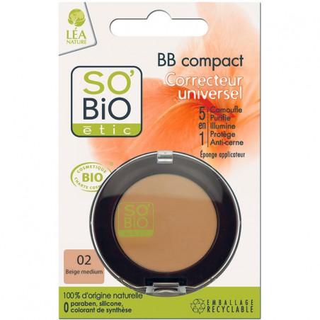 bb correttore compatto 02 beige medium