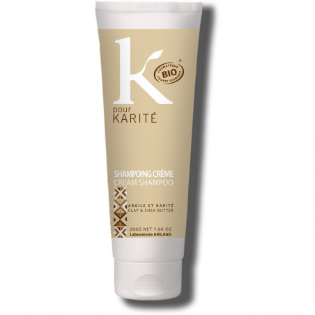 shampoo crema argilla e karitè