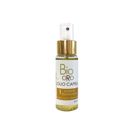 bio oro olio capelli 1 nutriente ristrutturante