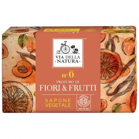 sapone vegetale n. 6 fiori e frutti