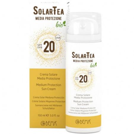crema solare media protezione SPF 20