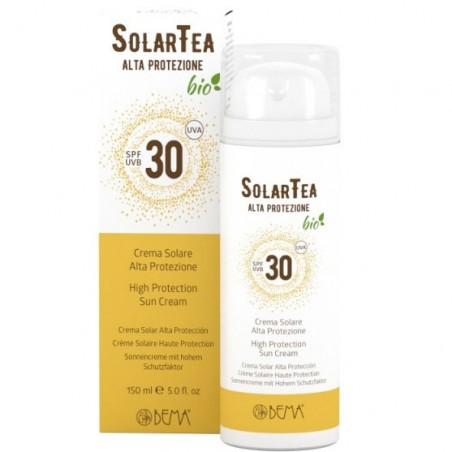 crema solare alta protezione SPF 30