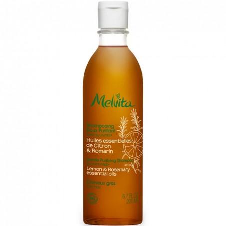 shampoo dolce purificante limone e rosmarino