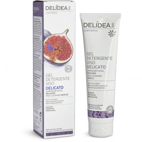 gel detergente viso delicato fico e uva spina