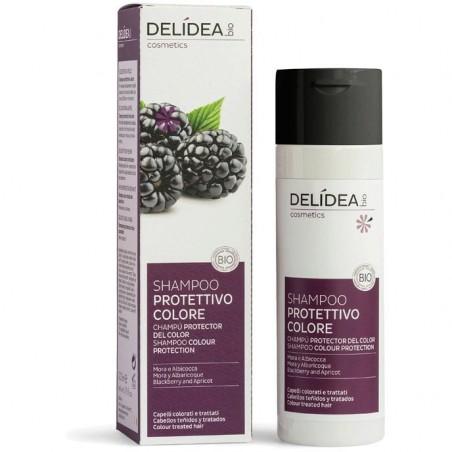 shampoo protettivo colore mora e albicocca