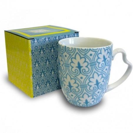 mug decò turquoise