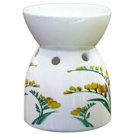 brucia essenze in ceramica fresia