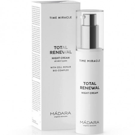crema notte time miracle total renewal