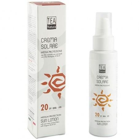 crema solare SPF 20