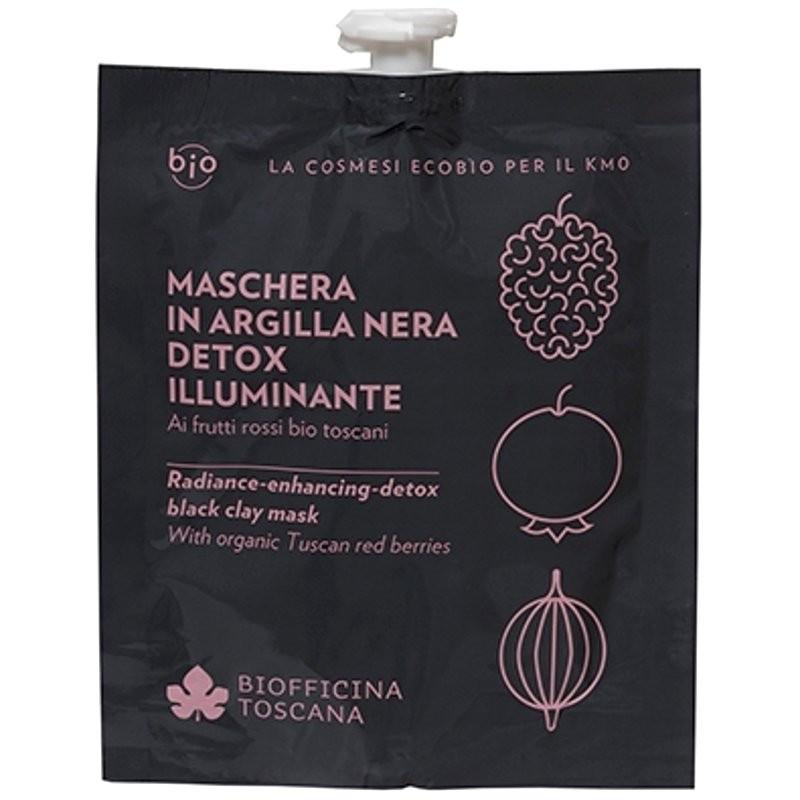 Biofficina Toscana Maschera in argilla nera detox-illuminante
