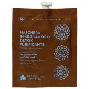 Biofficina Toscana Maschera in argilla oro detox-purificante