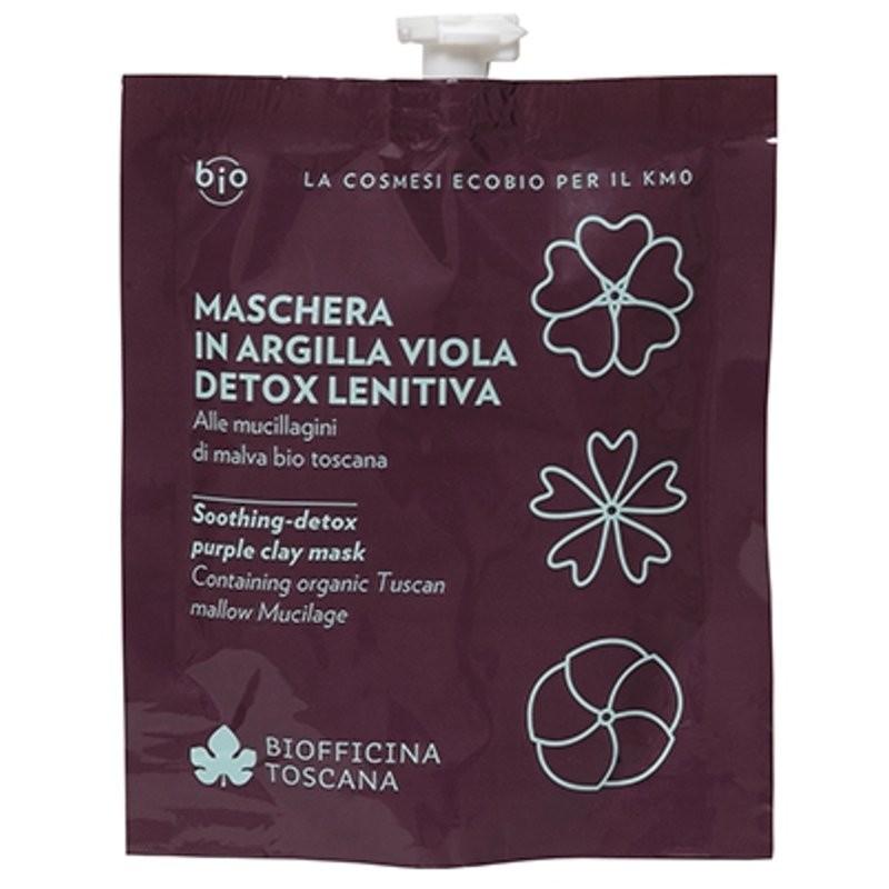 Biofficina Toscana Maschera in argilla viola detox-lenitiva
