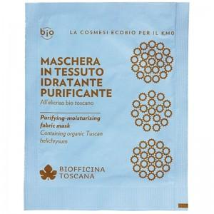 Biofficina Toscana Maschera in tessuto idratante-purificante