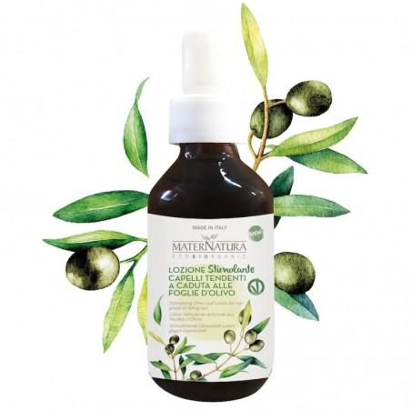 lozione stimolante capelli tendenti alla caduta alle foglie di olivo