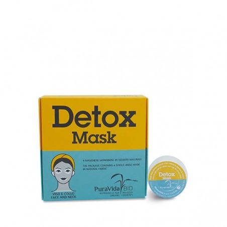 detox mask - 4 cialde da 8 ml
