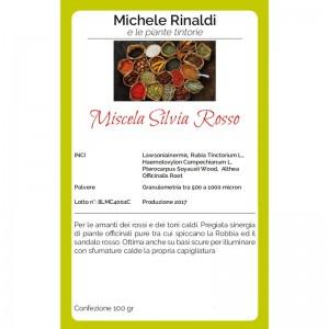 Michele Rinaldi Miscela Silvia rosso