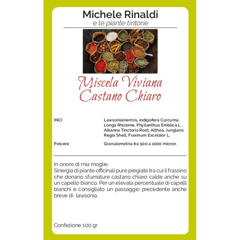 Michele Rinaldi Miscela Viviana castano chiaro