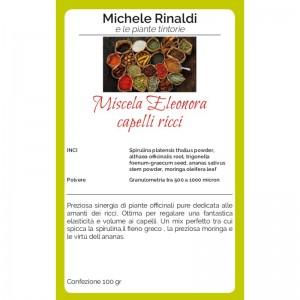 Michele Rinaldi Miscela Eleonora capelli ricci