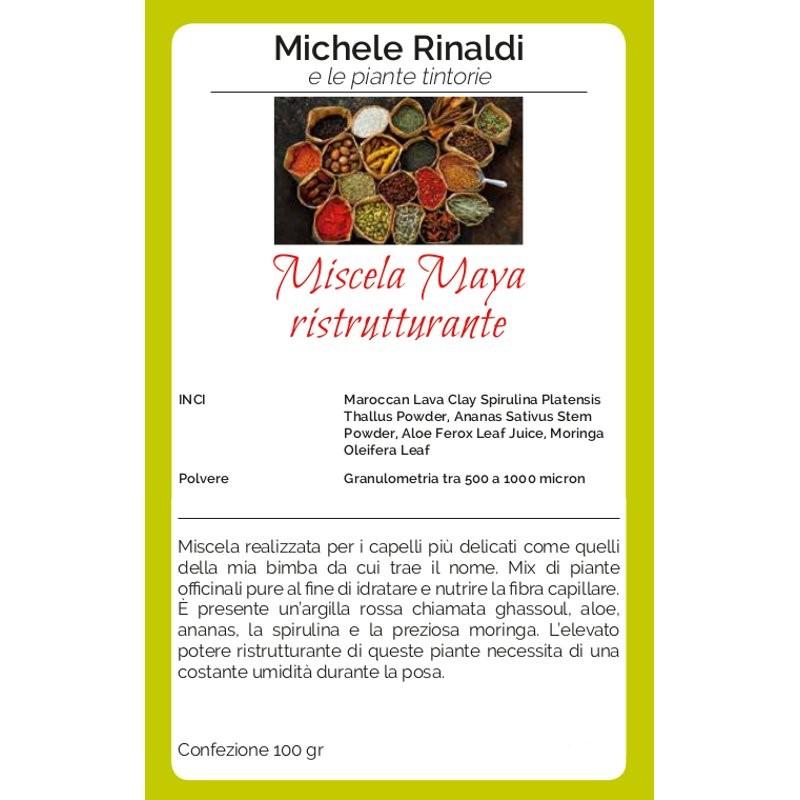Michele Rinaldi Miscela Maya ristrutturante