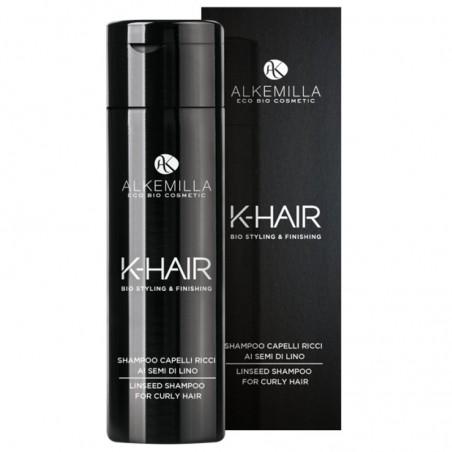 shampoo capelli ricci ai semi di lino k-hair