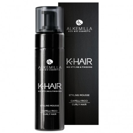 styling mousse capelli ricci k-hair