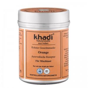 Khadi Maschera viso e corpo arancia
