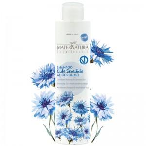 MaterNatura Shampoo cute sensibile al fiordaliso