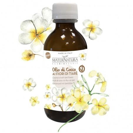 olio di cocco ai fiori di tiarè