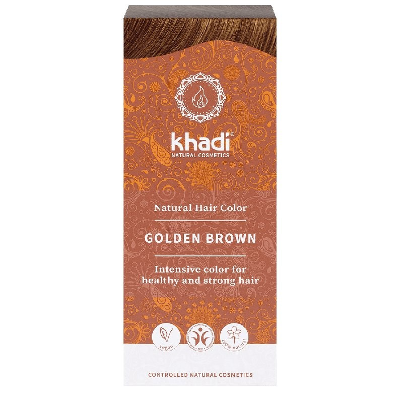 Khadi Tinta vegetale castano dorato