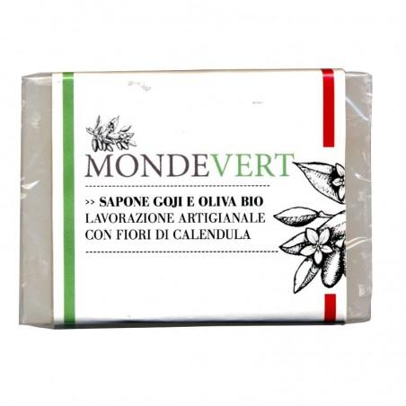 sapone vegetale goji e oliva bio
