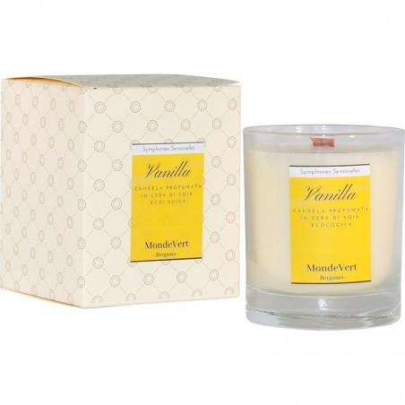 Vanilla - Candela in cera vegetale profumata