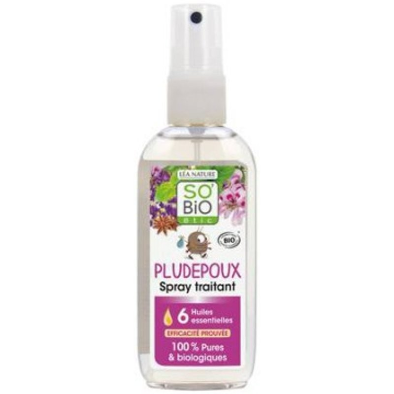 SoBio Etic anti pidocchi Pludepoux spray trattante