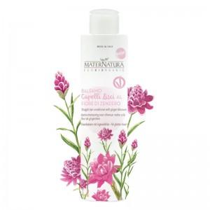 MaterNatura Balsamo capelli lisci ai fiori di zenzero
