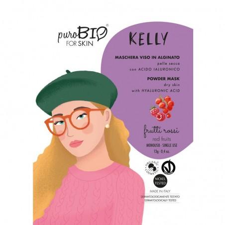 maschera viso peel off in alginato pelle secca Kelly