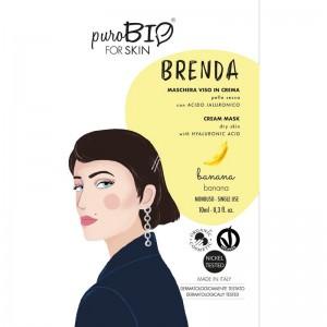 Purobio Maschera viso in crema Banana  Brenda
