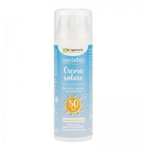La Saponaria Crema solare bimbi e pelli sensibili SPF 50