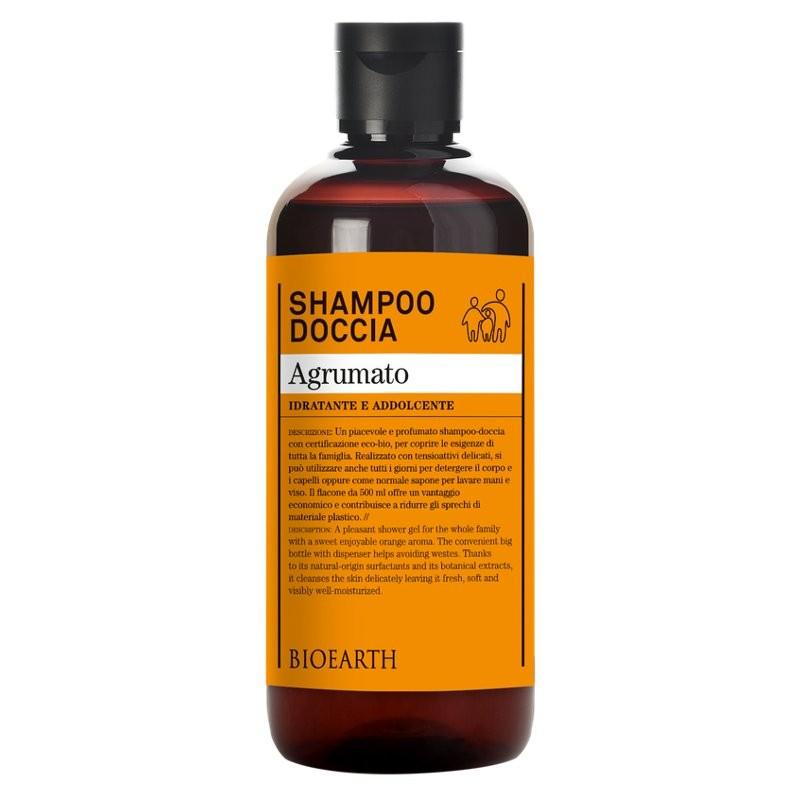 Bioearth Shampoo-doccia agrumato