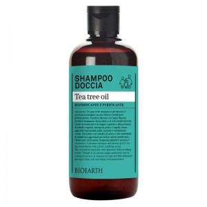 Bioearth Shampoo-doccia tea tree oil