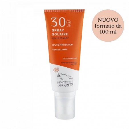 spray solare SPF 30 alga maris