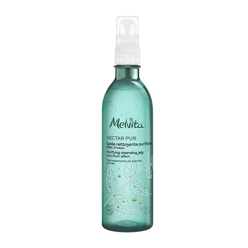 Melvita Gel detergente viso nectar pur