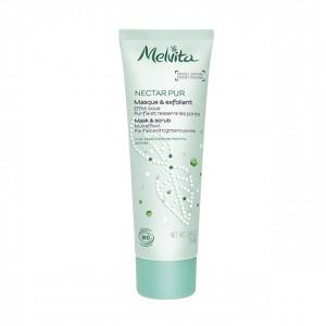 Melvita Maschera ed esfoliante effetto fango nectar pur