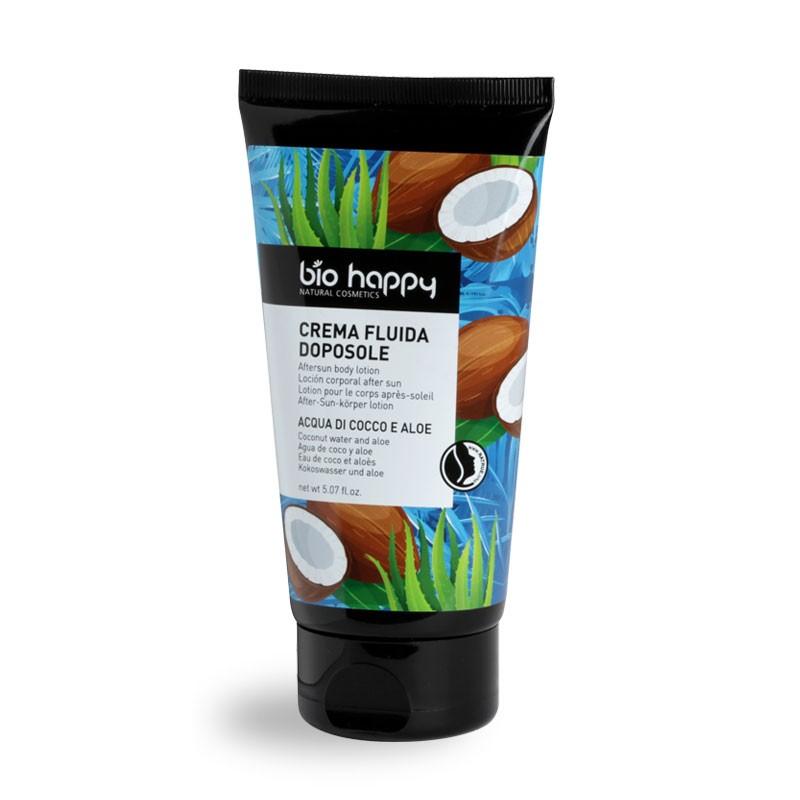 Bio Happy Crema fluida doposole cocco e aloe